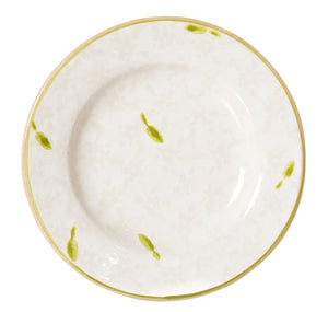 Tiny Plate White Lawn