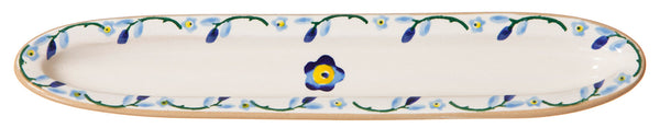 Nicholas Mosse Olive Dish Forget Me Not