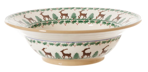 Pasta Server Reindeer by Nicholas Mosse Pottery - Ireland - Handmade Irish Craft