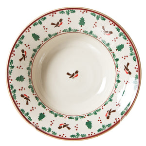 Nicholas Mosse Pasta Server Winter Robin