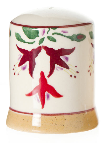 Pepper cruet Fuchsia spongeware pottery by Nicholas Mosse Pottery - Ireland - Handmade Irish Craft.