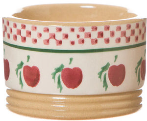 Ramekin Apple spongeware pottery by Nicholas Mosse Pottery - Ireland - Handmade Irish Craft.