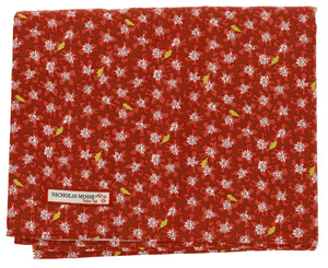 Red Lawn Tablecloth 56 x 90