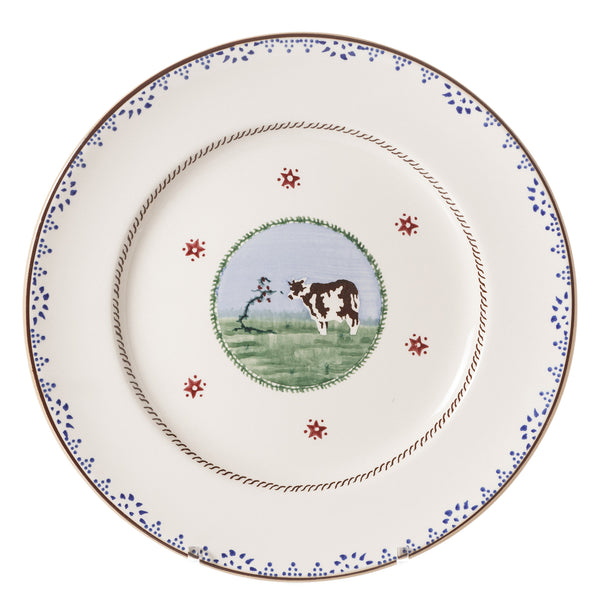 SERVING PLATE COW