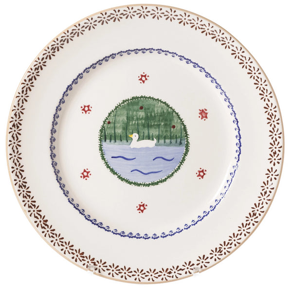 Nicholas Mosse Serving Plate Duck