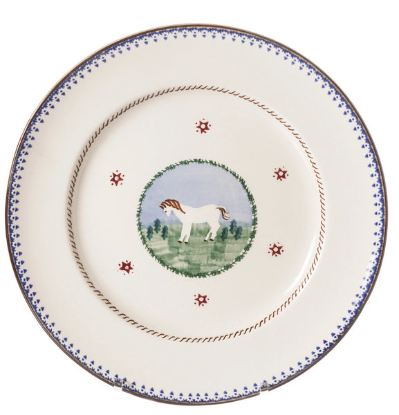 Nicholas Mosse Serving Plate Pony