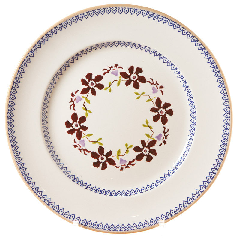 Serving Plate Clematis