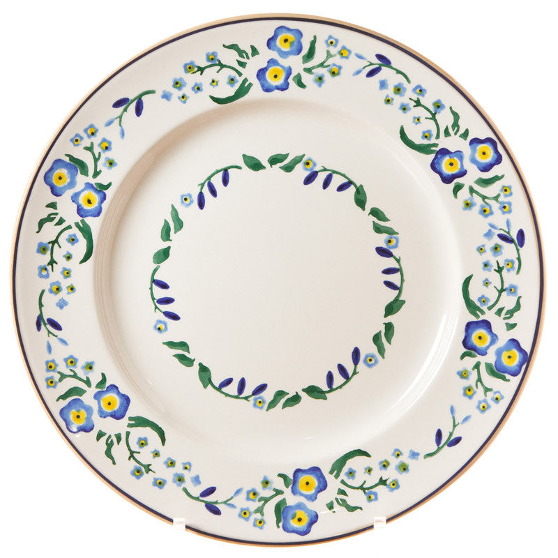 Serving Plate Forget Me Not