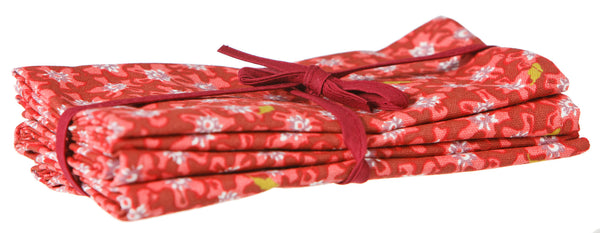 NAPKINS LAWN RED