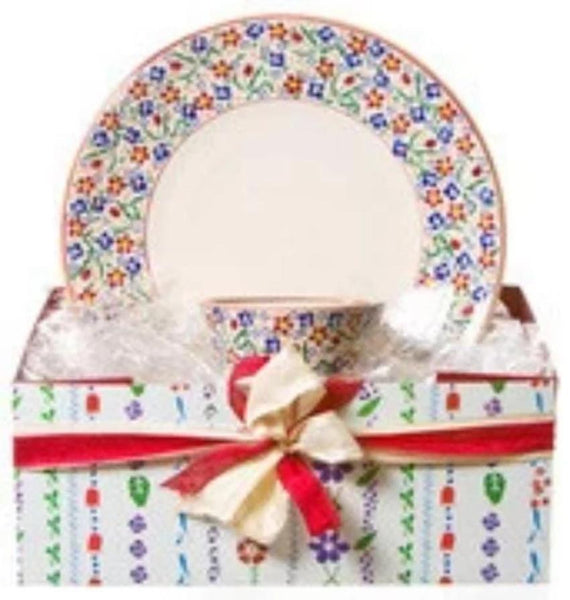 SHALLOW DISH & SMALL ANGLE BOWL GIFT SET