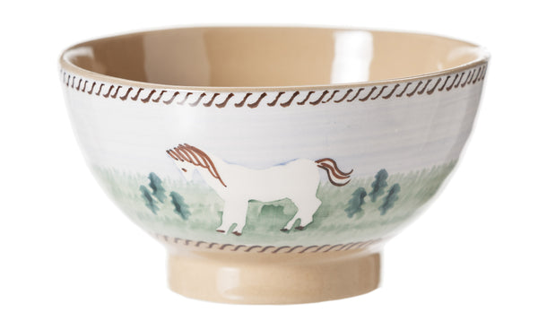 Small Bowl Pony spongeware by Nicholas Mosse Pottery - Ireland - Handmade Irish Craft