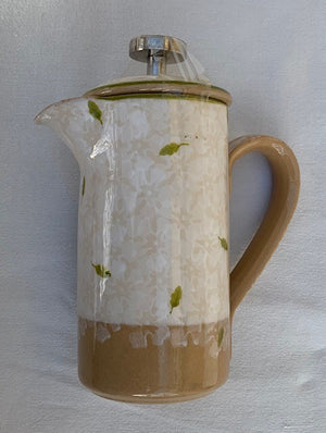 Small Cafetiere Lawn White
