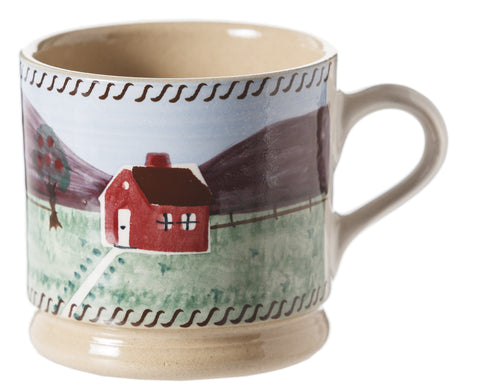 Nicholas Mosse Small Mug Farmhouse spongeware pottery by Nicholas Mosse Pottery - Ireland - Handmade Irish Craft