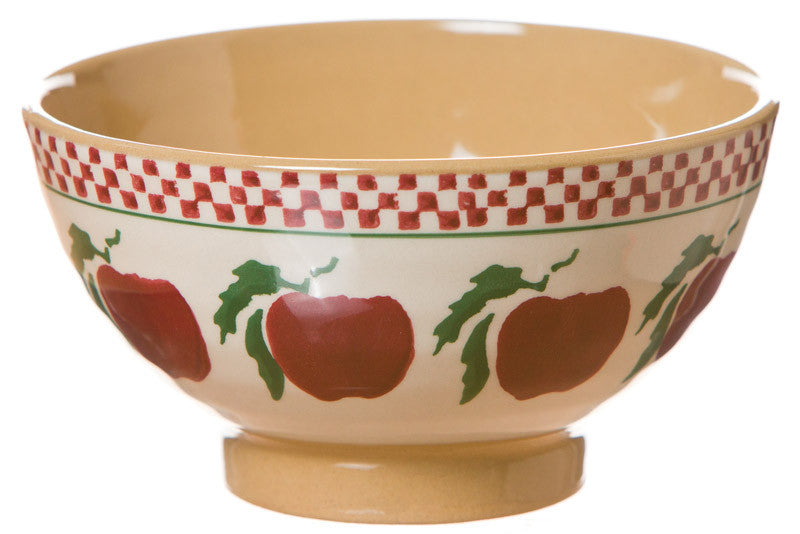 Small bowl Apple spongeware pottery by Nicholas Mosse Pottery - Ireland - Handmade Irish Craft
