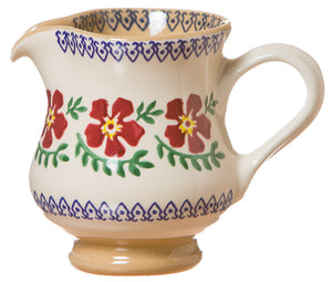 Small jug Old Rose spongeware pottery by Nicholas Mosse Pottery - Ireland - Handmade Irish Craft.