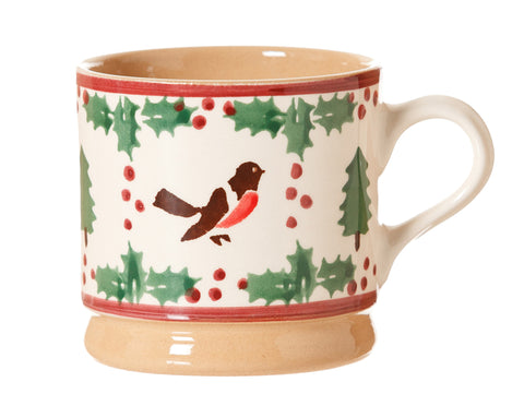 SMALL MUG WINTER ROBIN