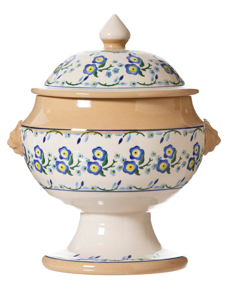 SOUP TUREEN FORGET ME NOT