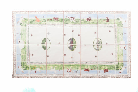 Tea Towel Tiled Assorted Landscape