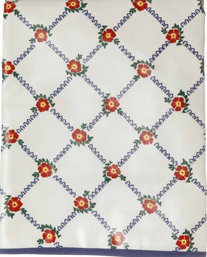 Tablecloth Old Rose Pvc 56 x 90