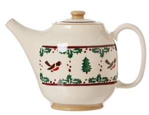 Teapot Winter Robin