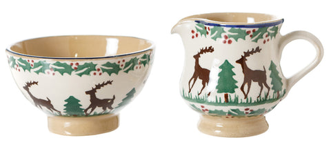 Tiny Bowl and Tiny Jug Reindeer by Nicholas Mosse Pottery - Ireland - Handmade Irish Craft  sc 1 st  Christmas - Nicholas Mosse & Christmas - Nicholas Mosse