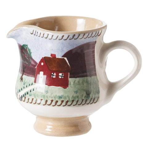 Tiny Jug Farmhouse spongeware by Nicholas Mosse Pottery - Ireland - Handmade Irish Craft