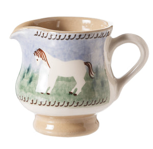 Tiny Jug Pony spongeware pottery by Nicholas Mosse, Ireland - Handmade Irish Craft - nicholasmosse.com