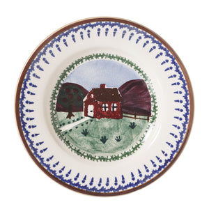 Tiny Plate Farmhouse spongeware by Nicholas Mosse Pottery - Ireland - Handmade Irish Craft