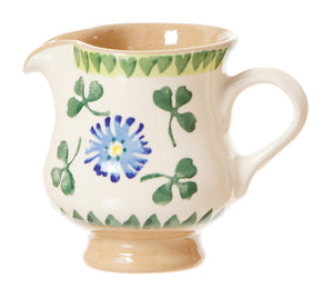 Tiny jug Clover spongeware pottery by Nicholas Mosse Pottery - Ireland - Handmade Irish Craft