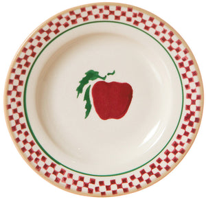 Tiny plate Apple spongeware pottery by Nicholas Mosse Pottery - Ireland - Handmade Irish Craft.