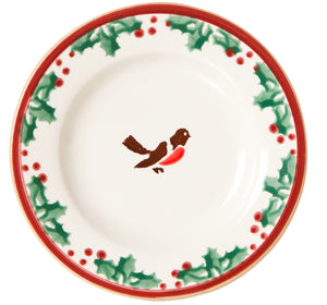 Nicholas Mosse Tiny Plate Winter Robin