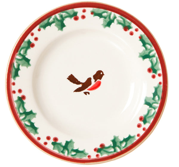 TINY PLATE WINTER ROBIN