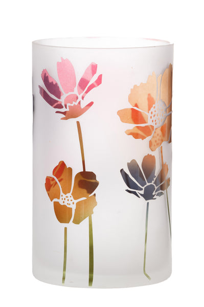 Nicholas Mosse Glass Vase With Flowers