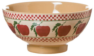 Vegetable bowl Apple spongeware pottery by Nicholas Mosse Pottery - Ireland - Handmade Irish Craft
