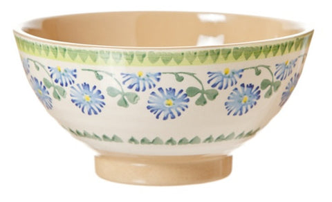 Vegetable bowl Clover spongware pottery by Nicholas Mosse Pottery - Ireland - Handmade Irish Craft