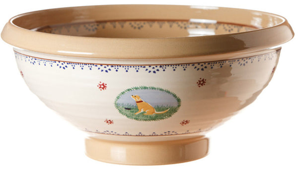 XL SALAD BOWL ASSORTED LANDSCAPE