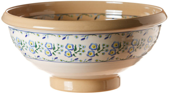 XL Salad Bowl Forget Me Not