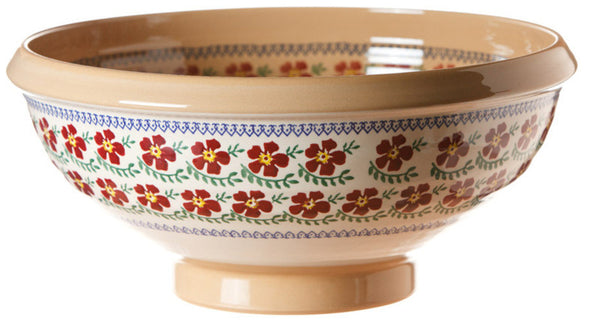 XL SALAD BOWL OLD ROSE
