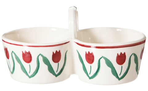 Nicholas Mosse Double Dipper In Red Tulip