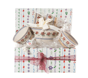 Nicholas Mosse Angled Bowl Gift Set Old Rose