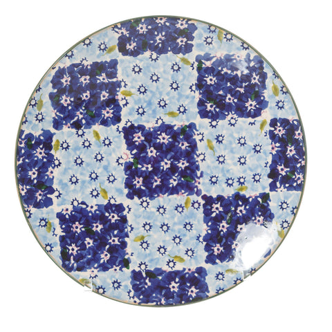 Nicholas Mosse Everyday Plate Chess Blue