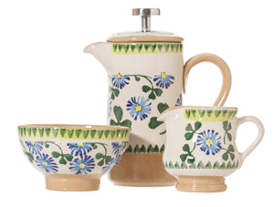 Nicholas Mosse Clover Small Cafetiere Gift Set