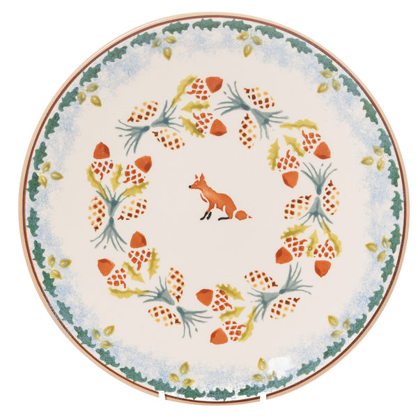 Nicholas Mosse Woodland Fox Everyday Plate