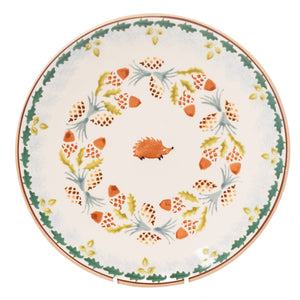 Nicholas Mosse Woodland Hedgehog Everyday Plate