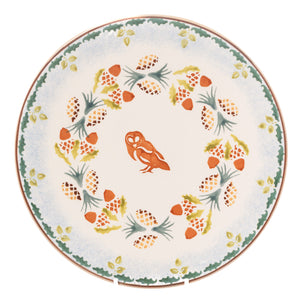 Nicholas Mosse Woodland Owl Everyday Plate