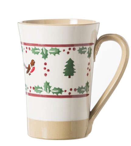 Nicholas Mosse Tall Mug Winter Robin