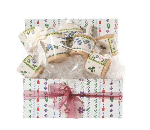 Nicholas Mosse Afternoon Tea Gift Set Clover