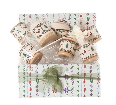 Afternoon Tea Gift Set Winter Robin