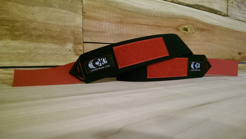 Black and Red Wrist wrap 2.0