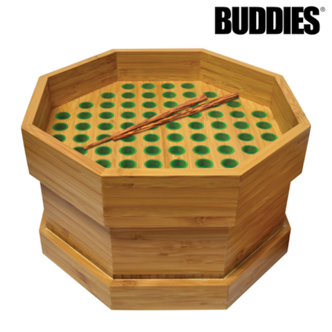 BUDDIES BUMP BOX KING SIZE 76 CONE FILLER - Tha Bong Shop